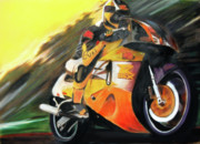 Race Pastels Originals - Nitro by Natalia Tyorlo