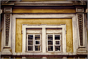 Homes Posters - Nitty gritty window Poster by Joan Carroll