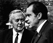 British Prime Minister Photos - Nixon Presidency. Former British Prime by Everett