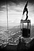 Cable Car Framed Prints - No. 1 Framed Print by Ati Sun Photography