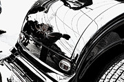 Hotrods Prints - No. 1 Print by Luke Moore