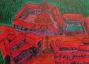 Kerala Paintings - No. 287 by Vijayan Kannampilly