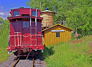 Colorado Railroad Museum Prints - No Agua Station Print by Rich Walter