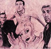 Gwen Stefani Art - No Doubt by Brian Child
