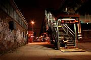 City  Metal Prints - No Entry Metal Print by Jason Hochman