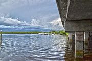 Florida Bridges Prints - No Fishing or Loitering Print by Timothy Lowry