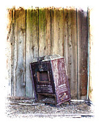 Old Heater Photo Framed Prints - No Heat Framed Print by Steve McKinzie
