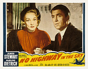 1950s Movies Framed Prints - No Highway In The Sky, Marlene Framed Print by Everett