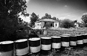 Abandoned Houses Photos - no mans land and restricted area of the UN buffer zone in the green line dividing north south cyprus by Joe Fox