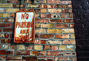 Meanings Posters - No Parking Anytime - Urban Life Signs Poster by Steven Milner