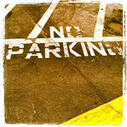 Signage Photos - No Parking by Gwyn Newcombe