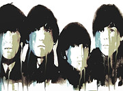 Fab Four Paintings - No Reply by Paul Lovering
