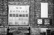 Jame Hayes Photo Prints - No Smoking Print by Jame Hayes