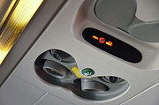 Authority Photos - No smoking signs in airplane by Sami Sarkis