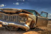 Wrecked Cars Prints - No Sunlight Print by Wayne Stadler