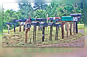 Texting Photo Prints - No Texting Zone Print by Stephen Warren