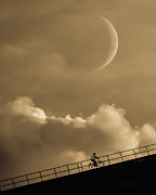 Crescent Moon Photos - No Turning Back by Bob Orsillo