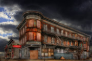 Dilapidated Digital Art - No Vacancy by Shelley Neff
