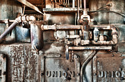 Machinery Art - No Work For Me by Sandra Bronstein