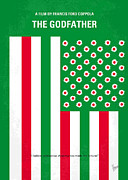 Italian Flag Posters - No028 My Godfather minimal movie poster Poster by Chungkong Art