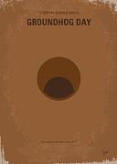 No031 My Groundhog Minimal Movie Poster Print by Chungkong Art