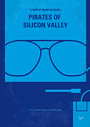 Great Digital Art Posters - No064 My Pirates of Silicon Valley minimal movie poster Poster by Chungkong Art