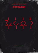No066 My Predator Minimal Movie Poster Print by Chungkong Art