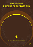 Egypt Art - No068 My Raiders of the Lost Ark minimal movie poster by Chungkong Art
