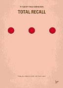 Alternative Posters - No097 My Total Recall minimal movie poster Poster by Chungkong Art