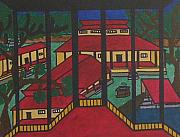 Kerala Paintings - No.301 by Vijayan Kannampilly