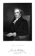 Flagg Posters - Noah Webster (1758-1843) Poster by Granger