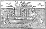 Ark Prints - Noahs Ark, 16th-century Bible Print by King