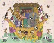 Mardi Gras Paintings - Noahs Ark by Dee Van Houten