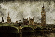 London England  Digital Art Metal Prints - Noble Attributes Metal Print by Andrew Paranavitana