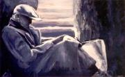 Monotone Paintings - Nobody Likes Me by Patricia Ann Dees