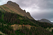Turbulent Skies Art - Nokhu Crags Colorado by Michael Kirsh