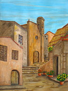 Southern Italy Prints - Nola 2 Print by Pamela Allegretto