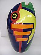Vase Ceramics - Nolan Fish Vase by Chris Mackie