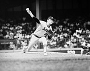 Throw Photo Prints - Nolan Ryan (1947- ) Print by Granger