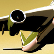 Aviation Images Posters - Non Stop Poster by Richard Rizzo