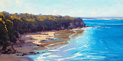 Signed . Nature Paintings - Norah Head Australia by Graham Gercken