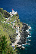 Sao Miguel Framed Prints - Nordeste lighthouse - Azores Framed Print by Gaspar Avila