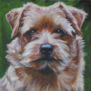 Norfolk; Prints - Norfolk Terrier Print by Lee Ann Shepard