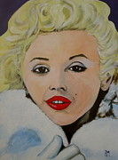 Iconic Paintings - Norma Jean by Pete Maier