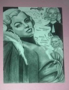 Normal Drawings - Norma Jean by Taylor Made Designs