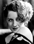 Bobbed Hair Framed Prints - Norma Shearer Framed Print by Everett
