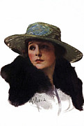 Norma Talmadge 1917 Print by Stefan Kuhn