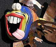 Whimsical Ceramics Originals - Norman by Tony Longo
