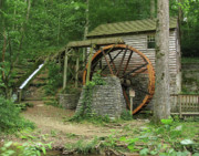 Grist Mill Prints - Norris Dam Grist Mill II Print by Douglas Stucky