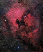 Cloud Dust Posters - North America Nebula Poster by Mpia-hd, Birkle, Slawik